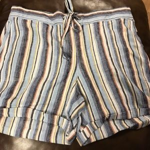 Shorts - New striped shorts